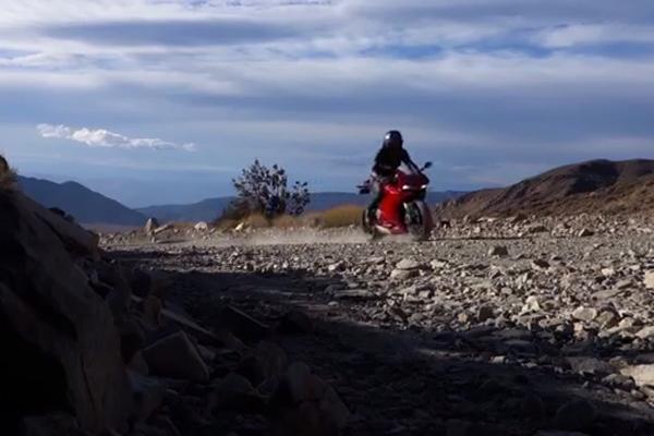 Dennis Matson's Ducati 1199 Panigale Adventure