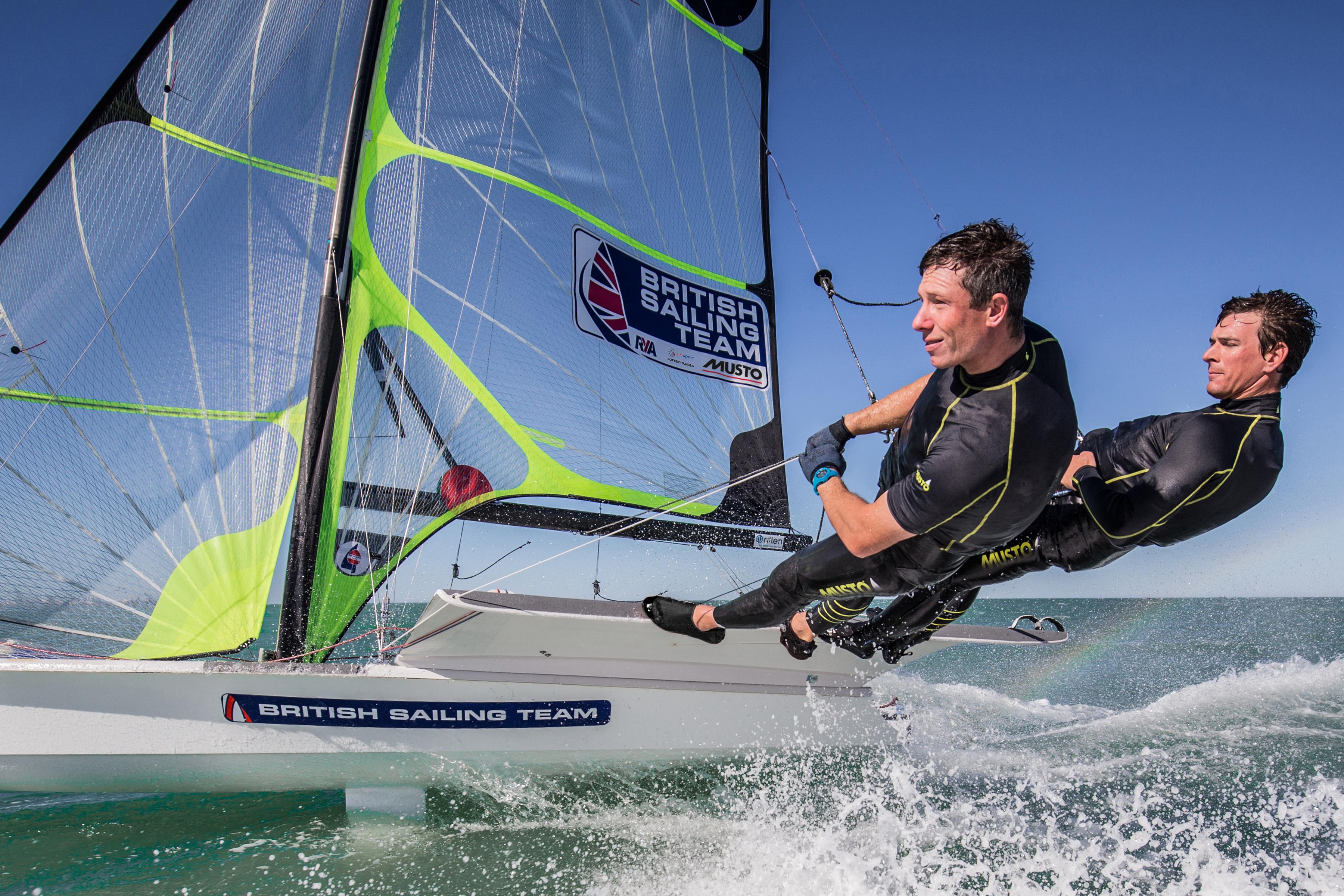 musto british sailing team