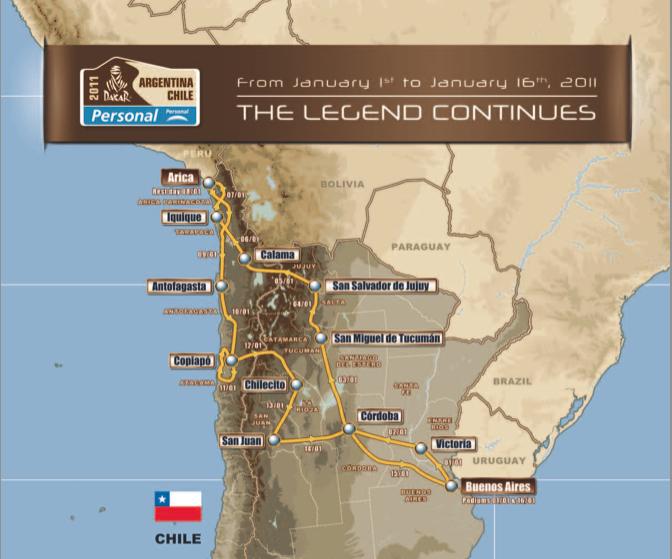 Dakar Rally begins today