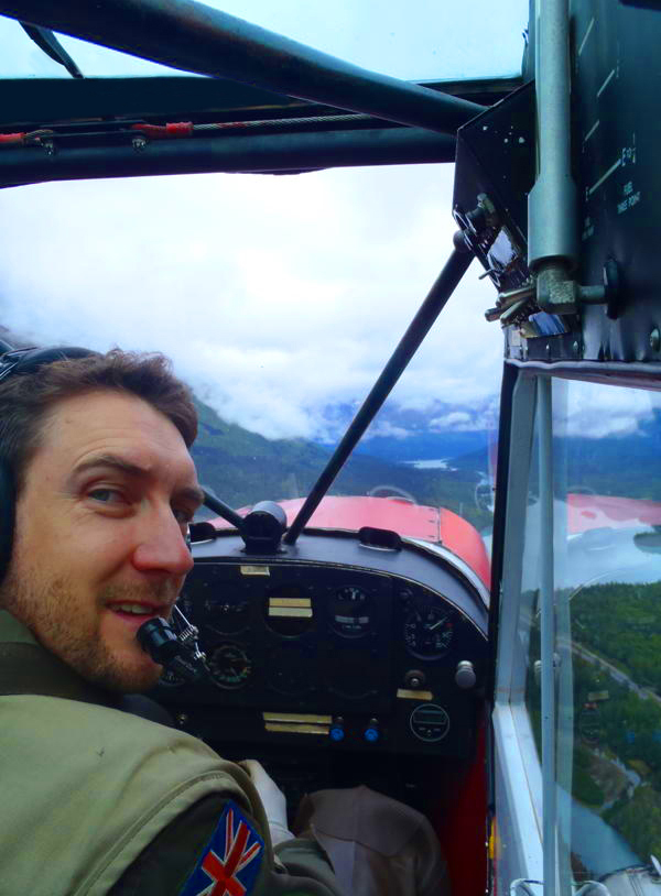 Learning to fly a floatplane in Alaska