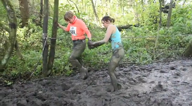 Take part in Mudrunner Icebreaker