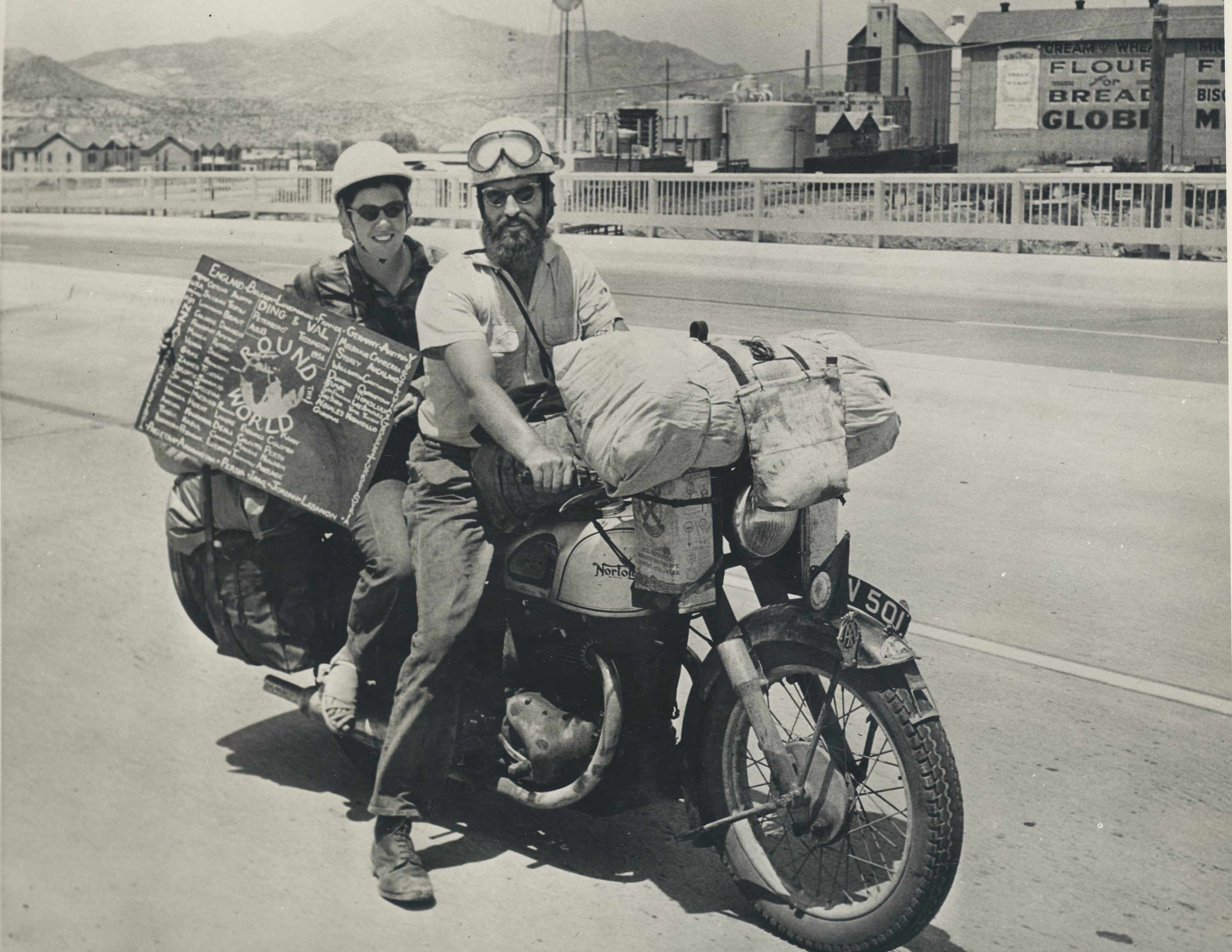 Ernest Bell's 1954 motorcycle adventure