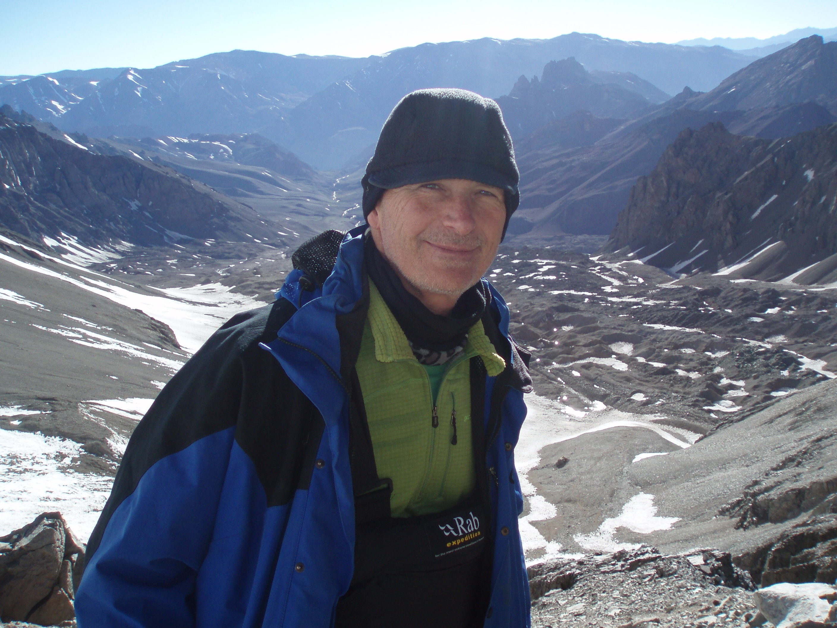 61-year-old Brit will climb Everest this April