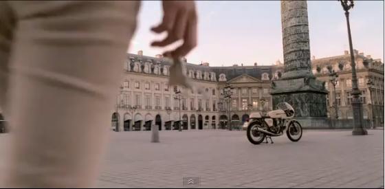 Keira Knightley's Beige Ducati Chanel Advert