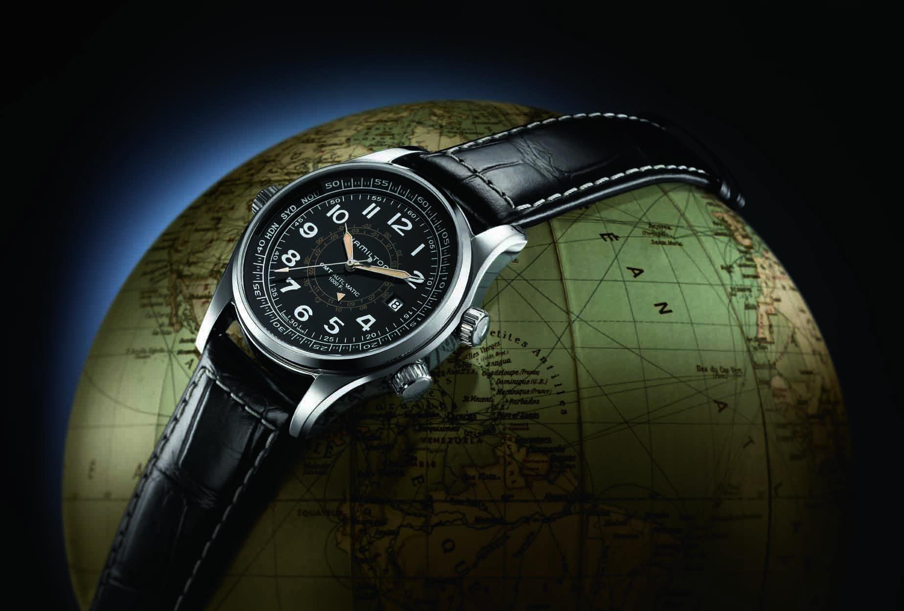 New watch from Hamilton – the Khaki SkyMaster UTC