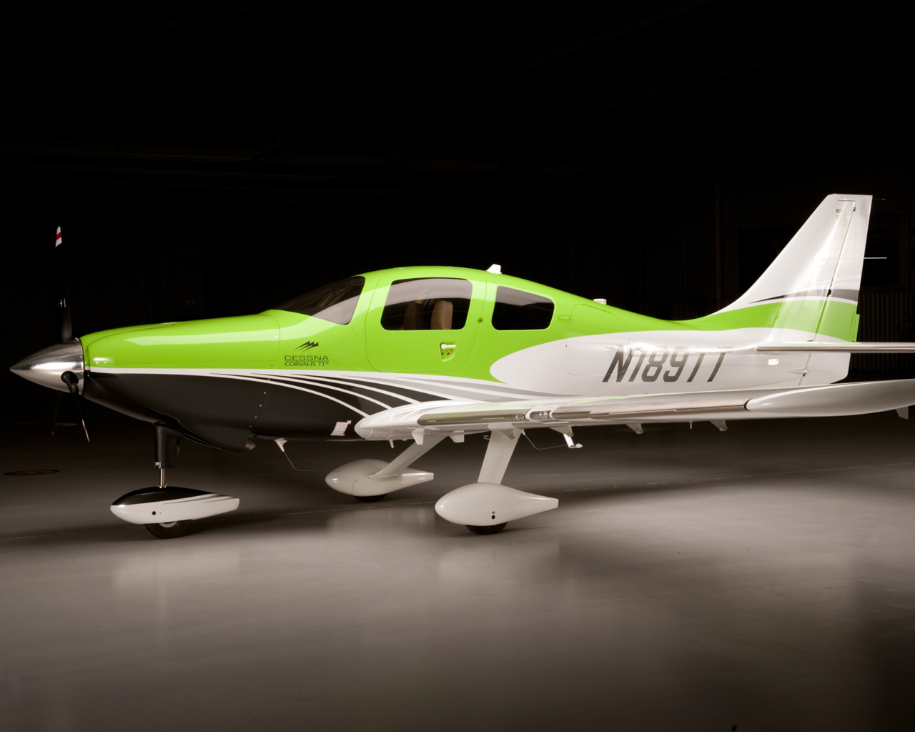 Cessna announces the new TTX Corvalis… in Lime Green