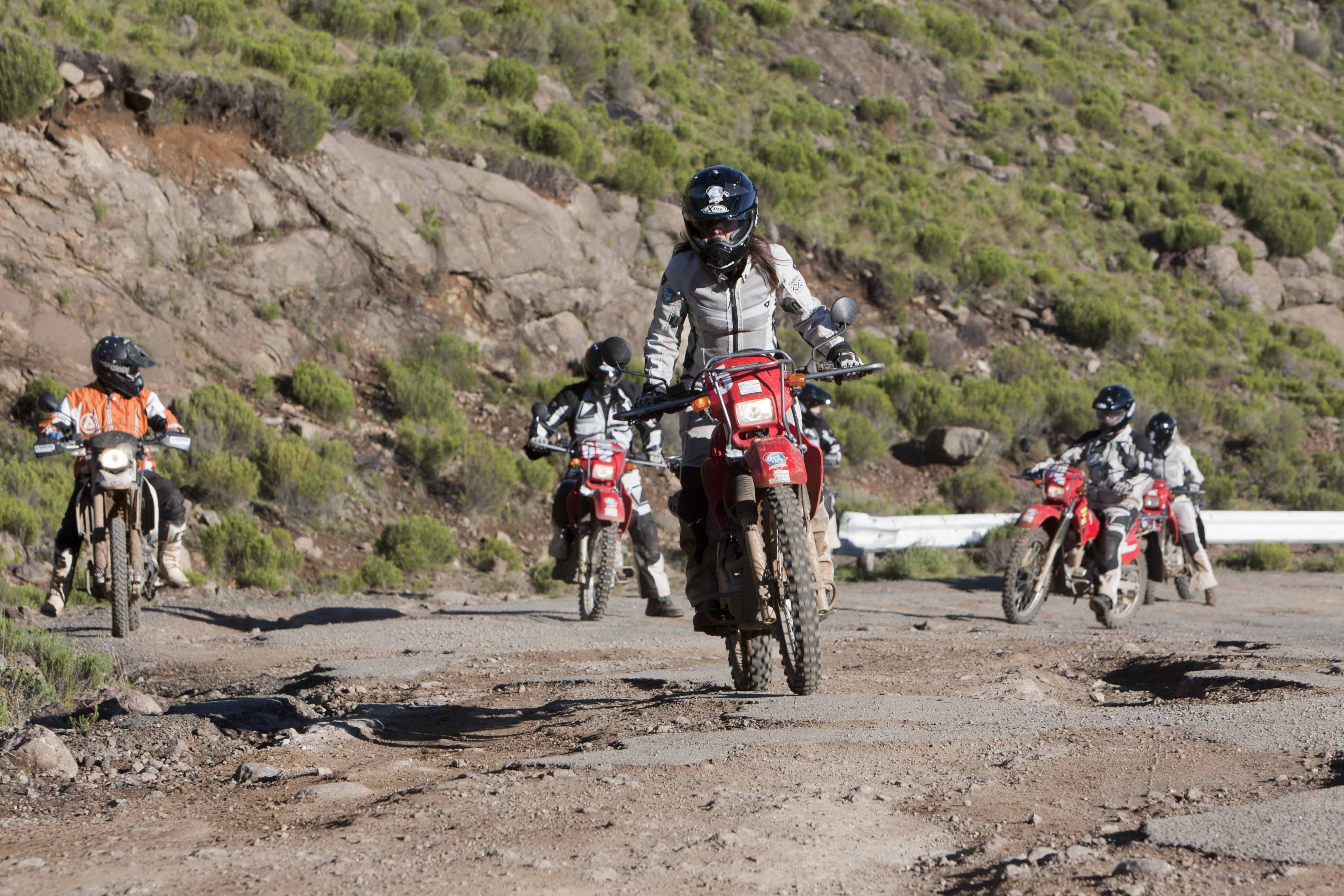 Celebs ride motorcycles to deliver medical support in Lesotho