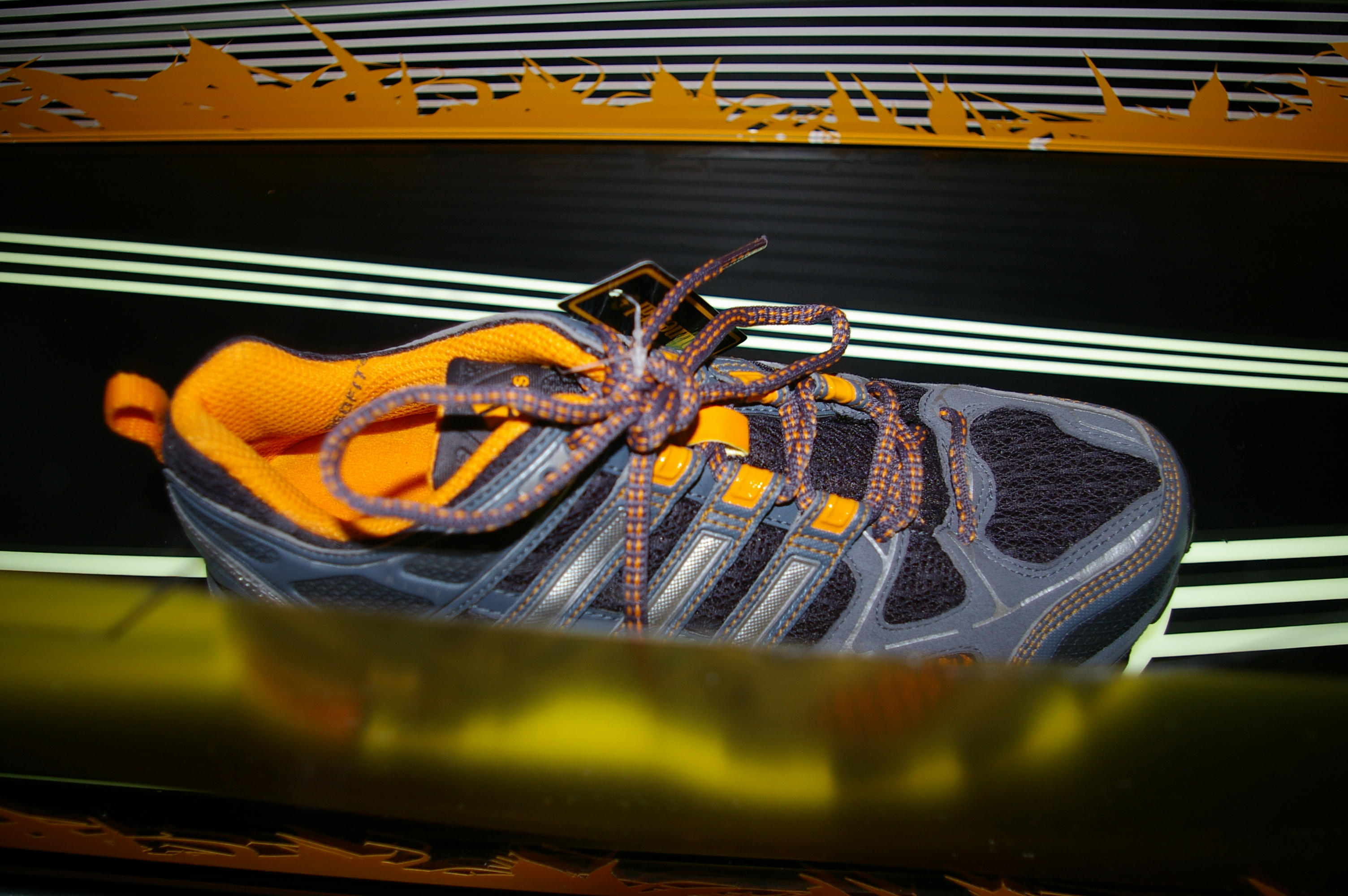 Adidas uses rubber from Continental cars tyres in a trail shoe