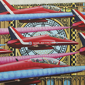 Art: Big Ben & The Red Arrows