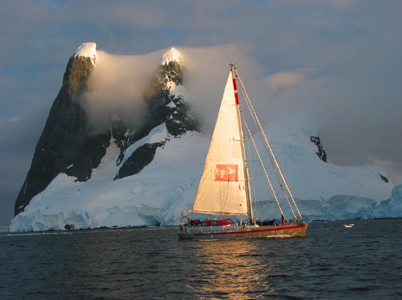 Join a yacht-based adventure to Antarctica