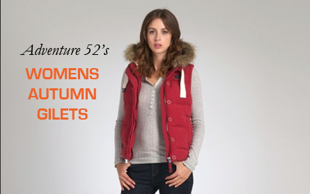 Autumn Adventure Fashion: Womens Gilets