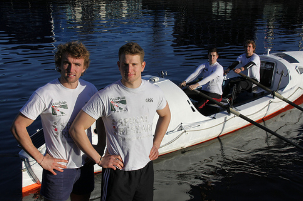 The Atlantic4 prepare for a 3000 mile Atlantic row