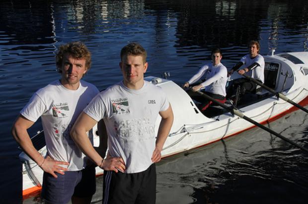 The Atlantic4 prepare for a 3000 mile Atlantic row