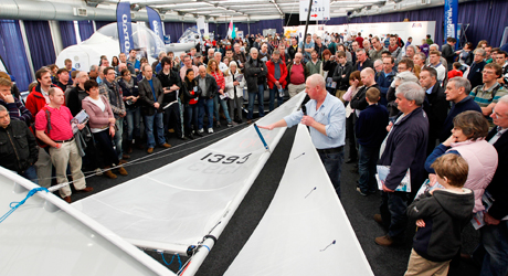 Beginners talk at the RYA Dinghy Show