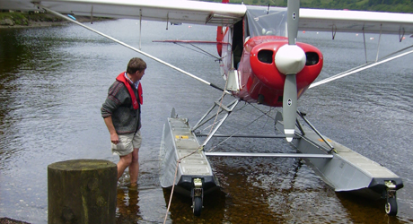 How to fly a seaplane with Neil's Seaplanes