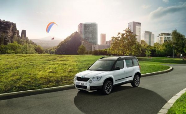 Skoda Yeti Adventure special edition on sale