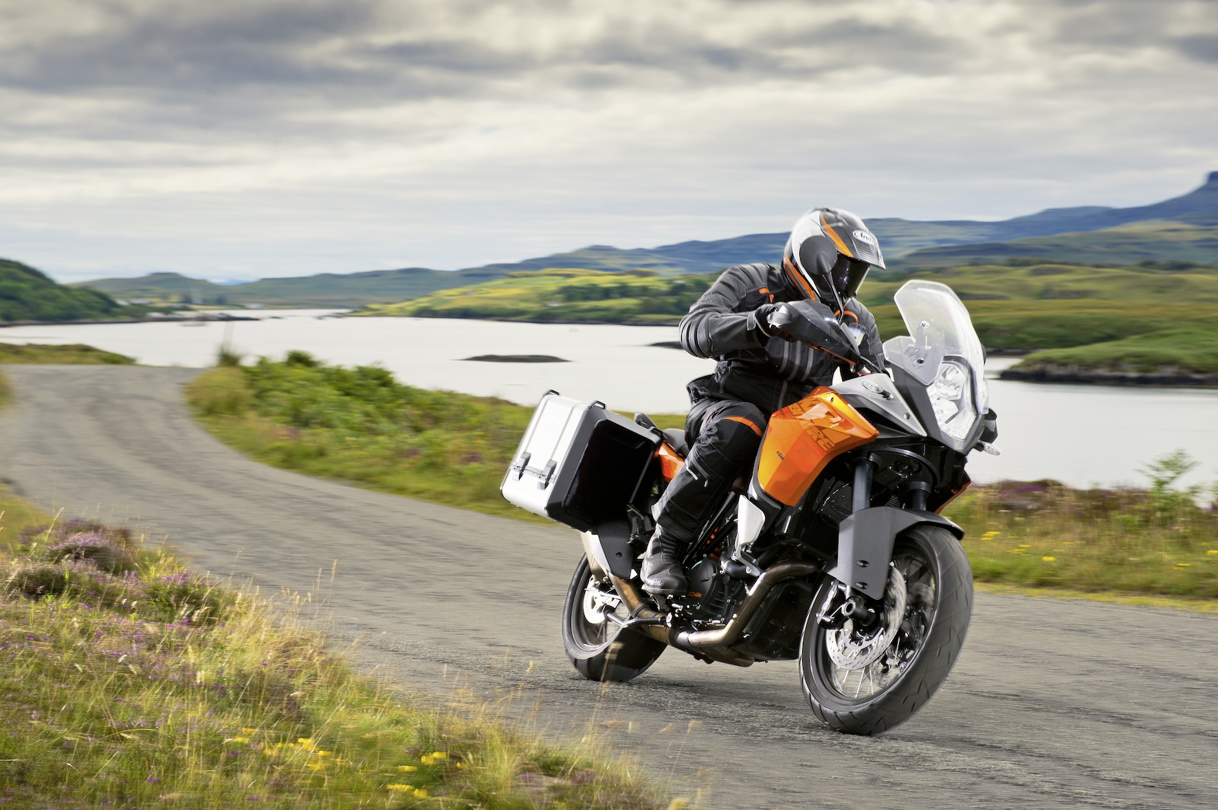 Test ride an KTM 1190 Adventure