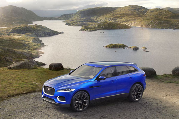 Check out the Jaguar C-X17 concept car