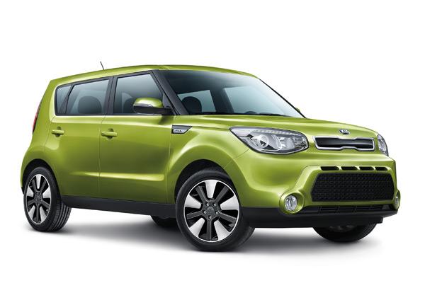2014 Kia Soul adventure car