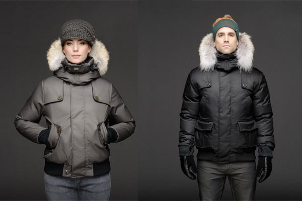 Audrina and Cartel Nobis ski jackets