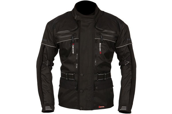 Rapier jacket for adventure motorcyclists