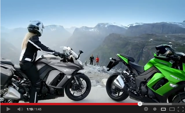 Rock climbing and the 2014 Z1000SX