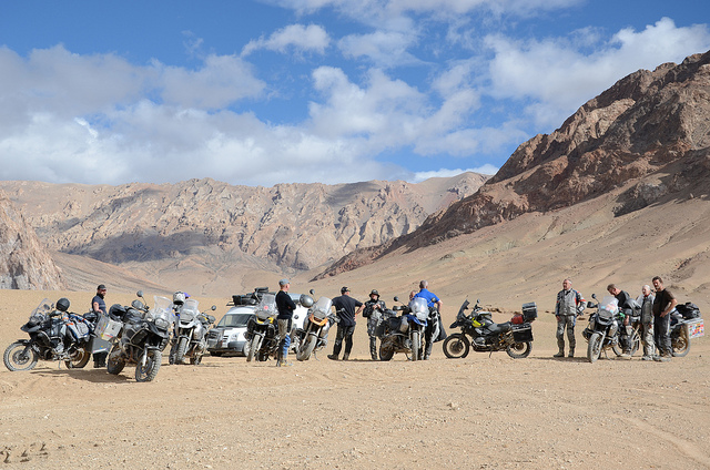 Globebusters Silk Road motorcycle adventure