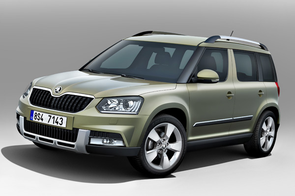 New SKODA Yeti for outdoor enthusiasts