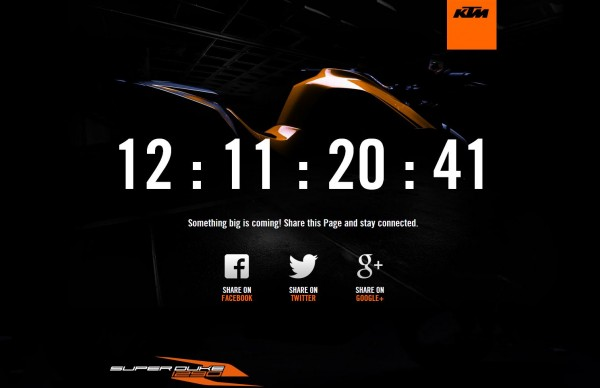 KTM makes new Super Duke R 1290 website live