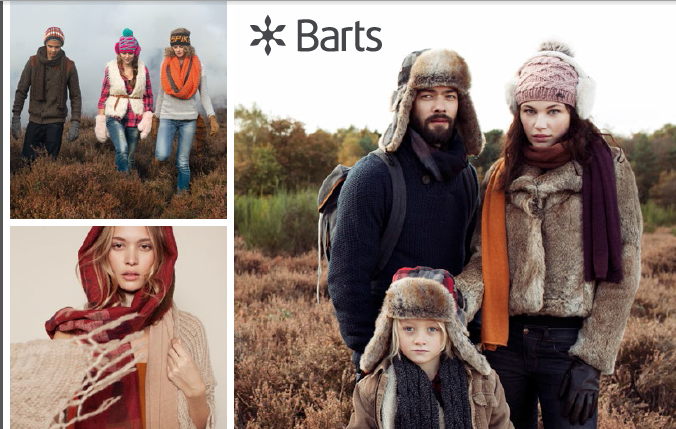 Barts clothing UK collection AW13/14