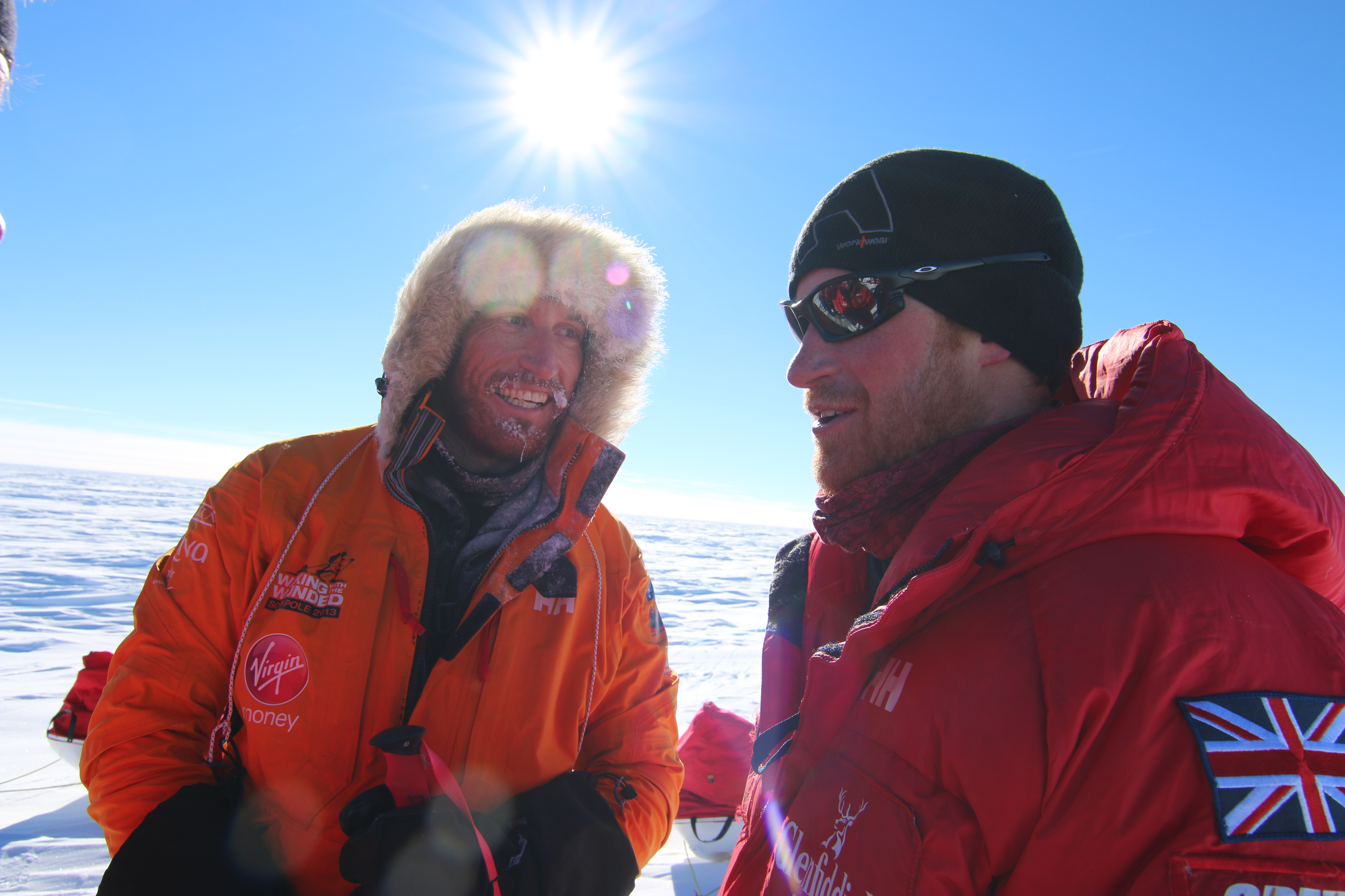 Prince Harry to arrive at the South Pole tomorrow