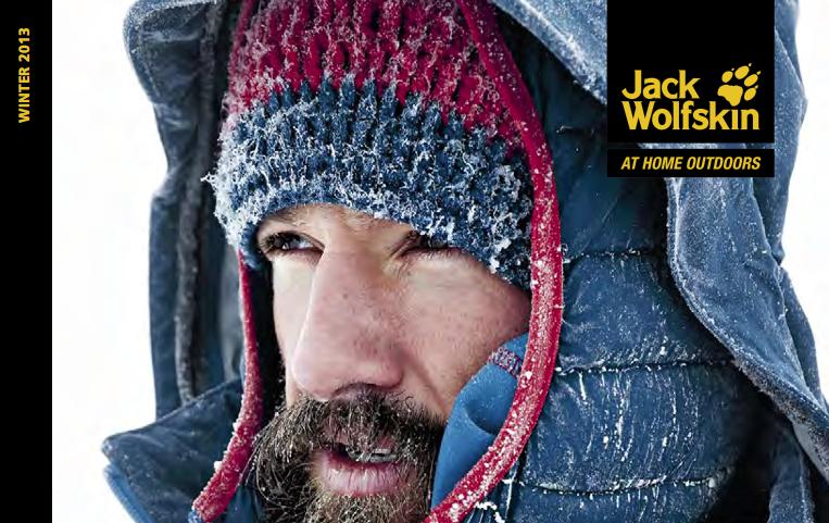 finest selection 048d2 6a18b AW13 Jack Wolfskin winter kit – Adventure 52