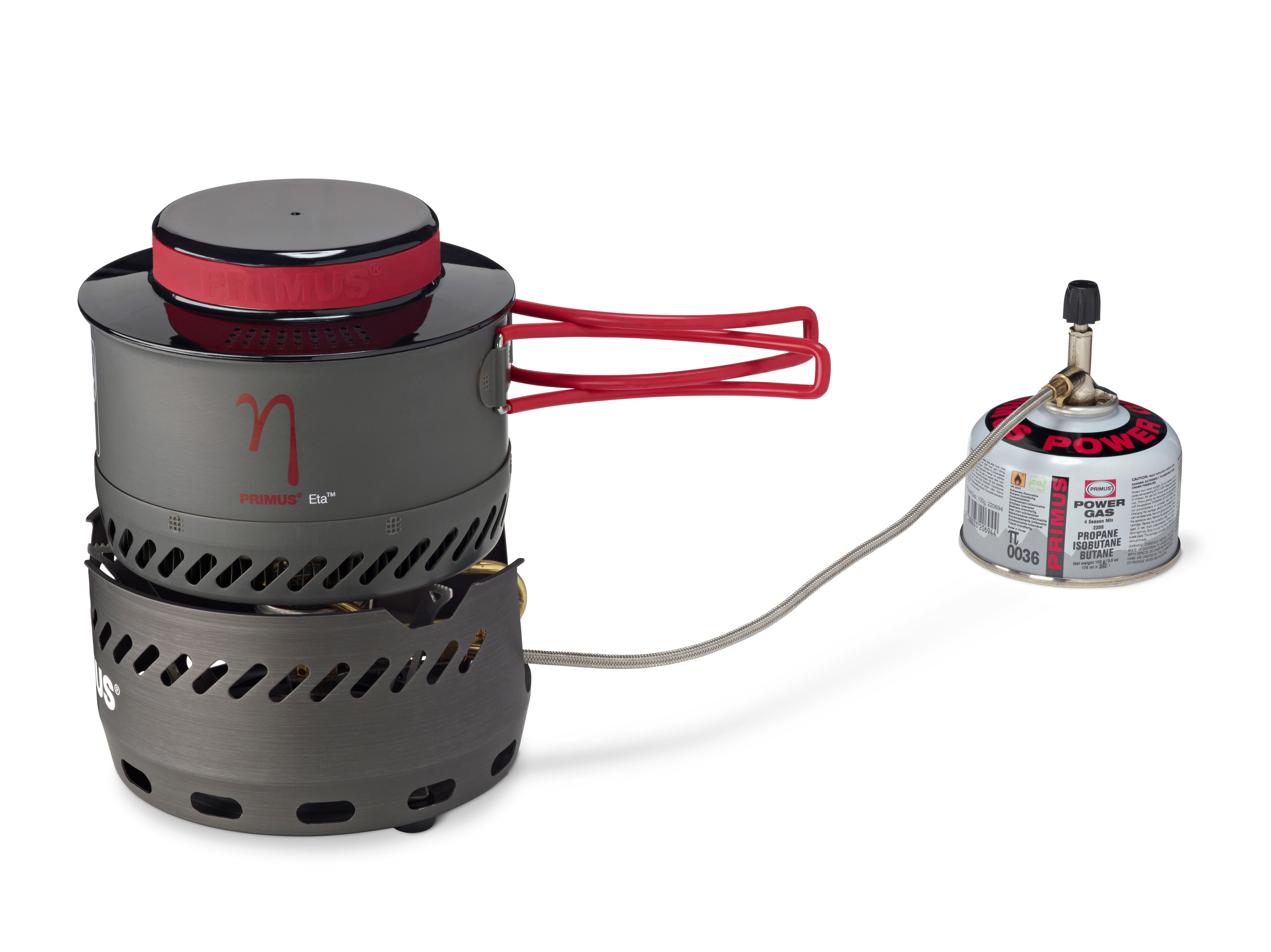 New Kit: Primus Eta Spider stove