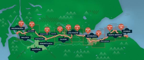 John Muir Way to open on Easter Weekend