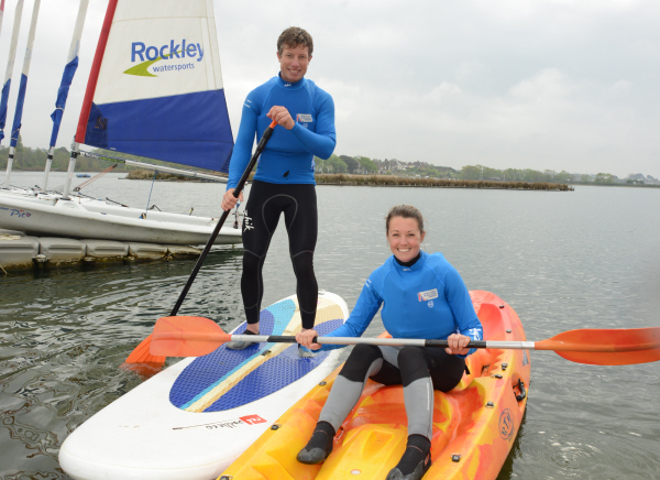 Free watersport tasters throughout May