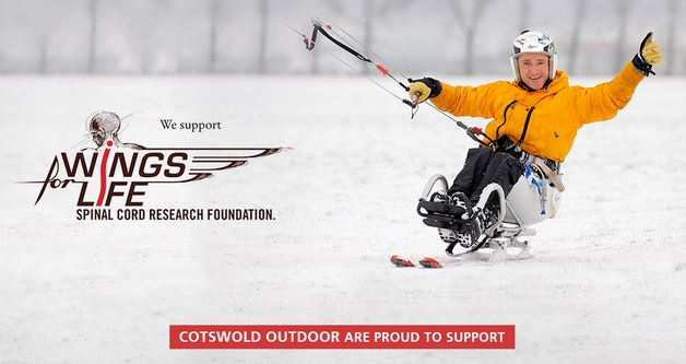 Cotswold Outdoor is supporting the Wings For Life charity