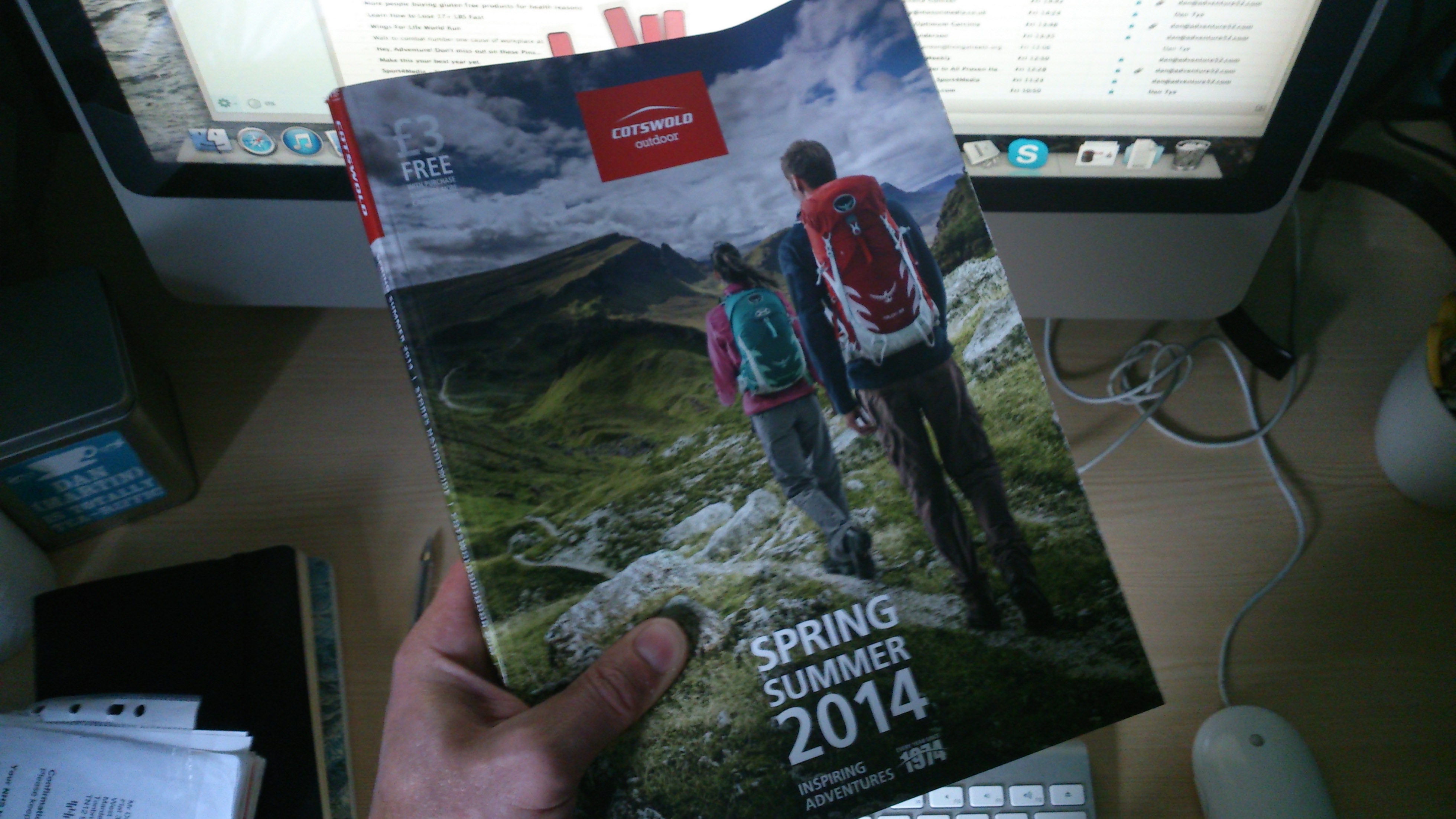 A flick through the Cotswold Outdoor SS14 catalogue