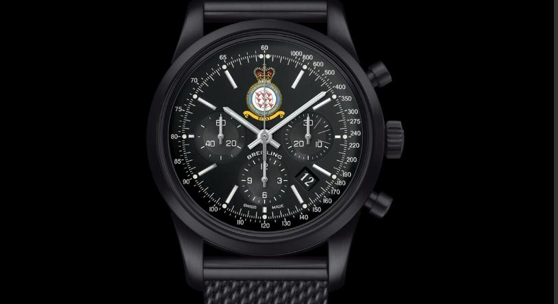 Limited edition Breitling Red Arrows watch