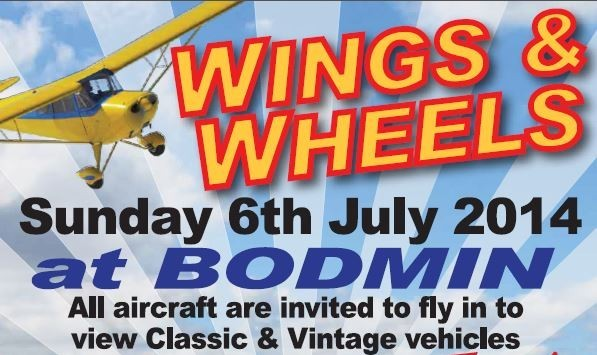 AVGAS is now £1.90 a litre at Bodmin Airfield