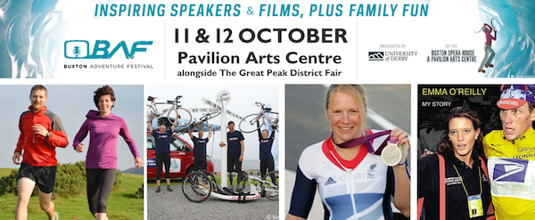 Win tickets to a film session at the Buxton Adventure Festival 2014