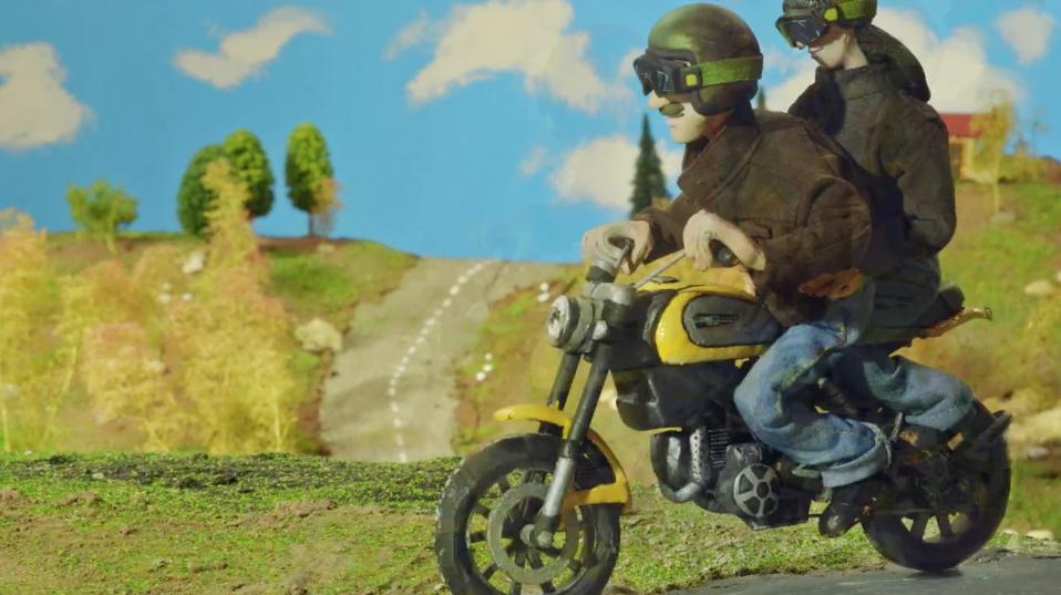 Teaser film for the new Ducati Scrambler