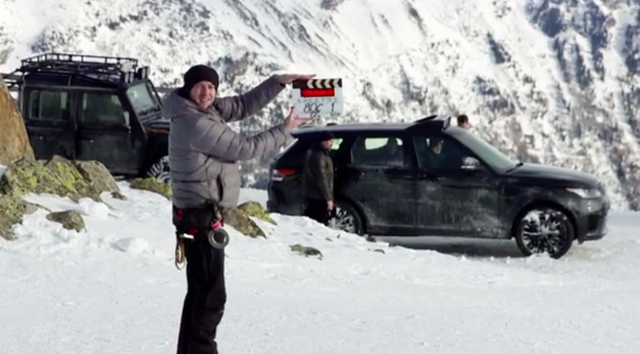 Looks like Bond's going skiing…