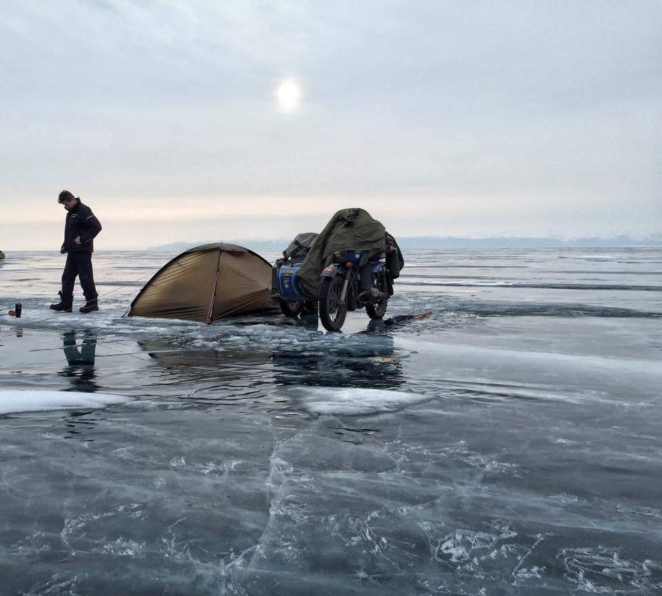 Matt Prior's riding a motorbike and sidecar across Siberia