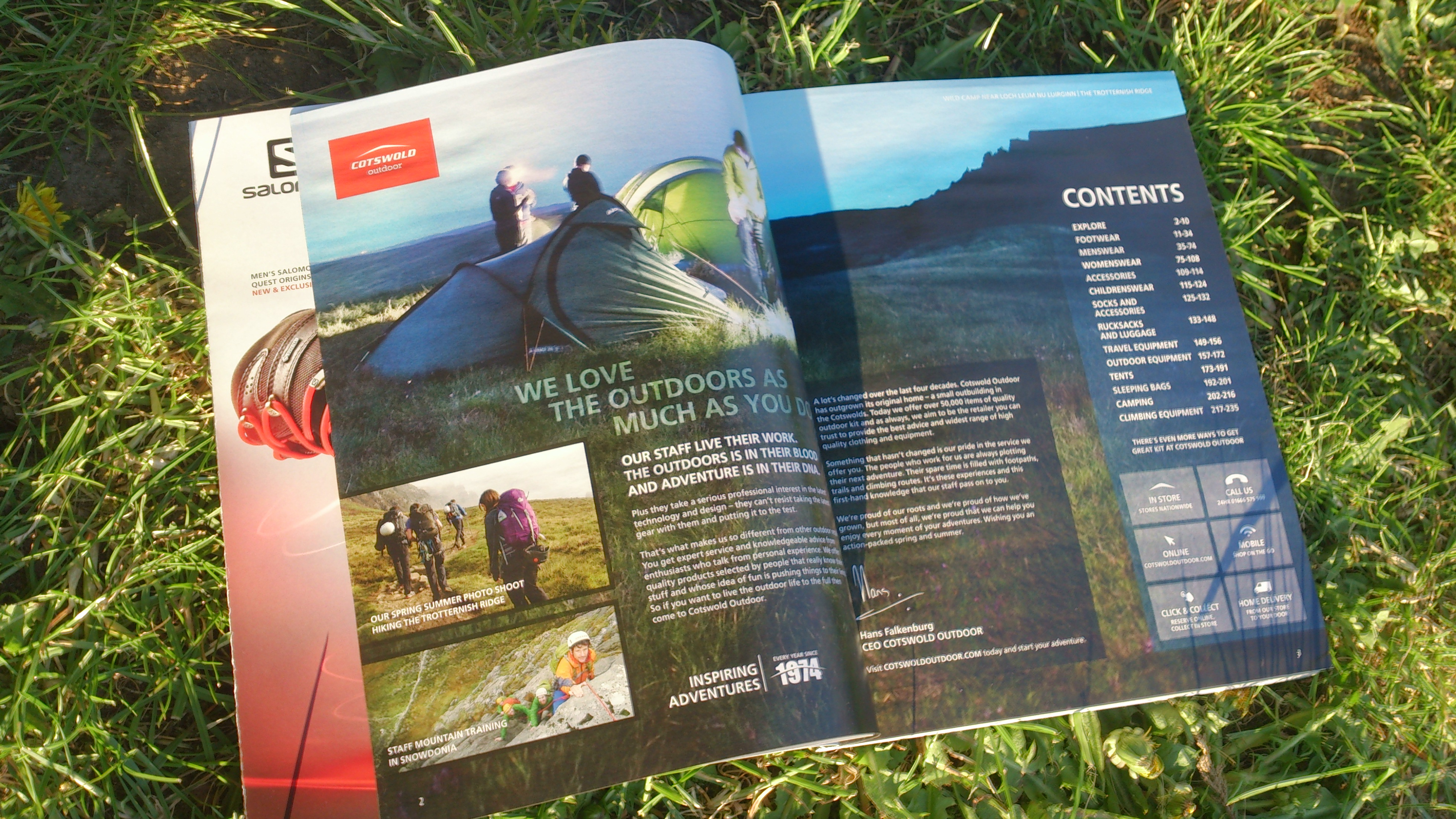 New kit in at Cotswold Outdoor for Spring/Summer