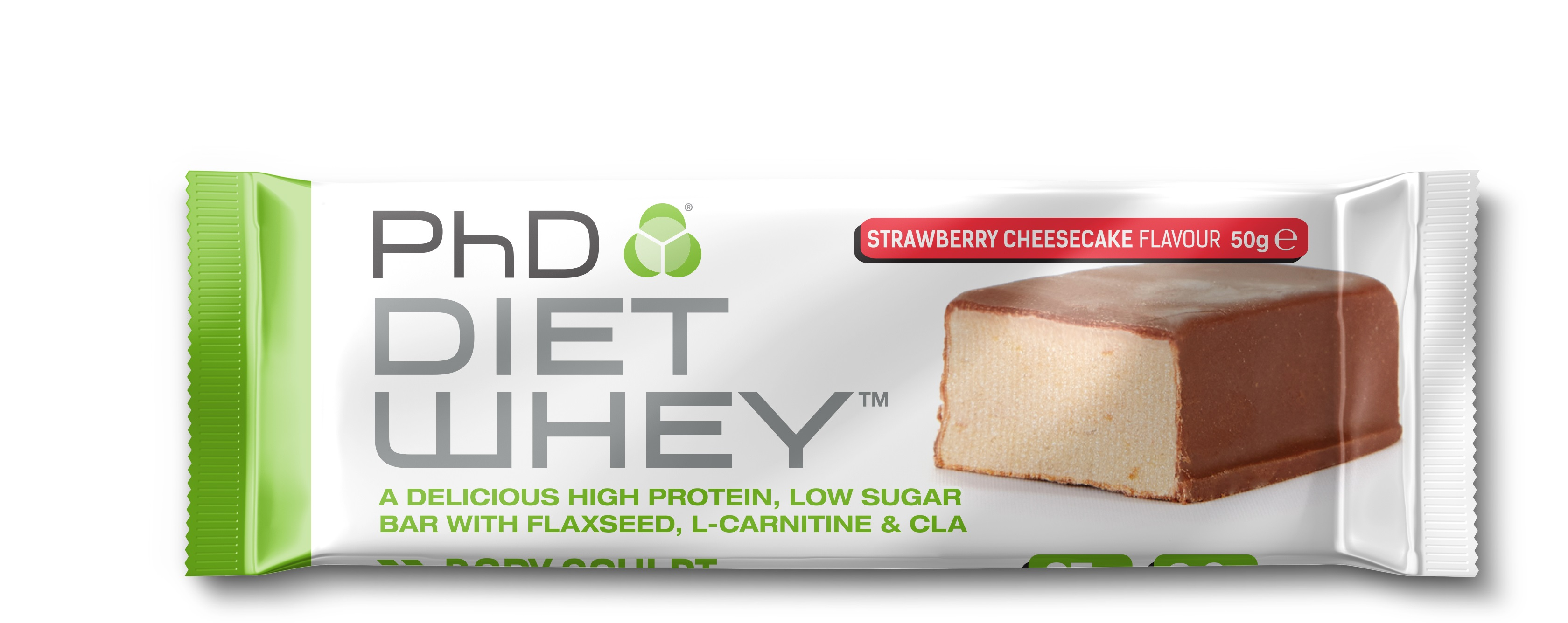 Pack a PhD Diet Whey bar on your next trip