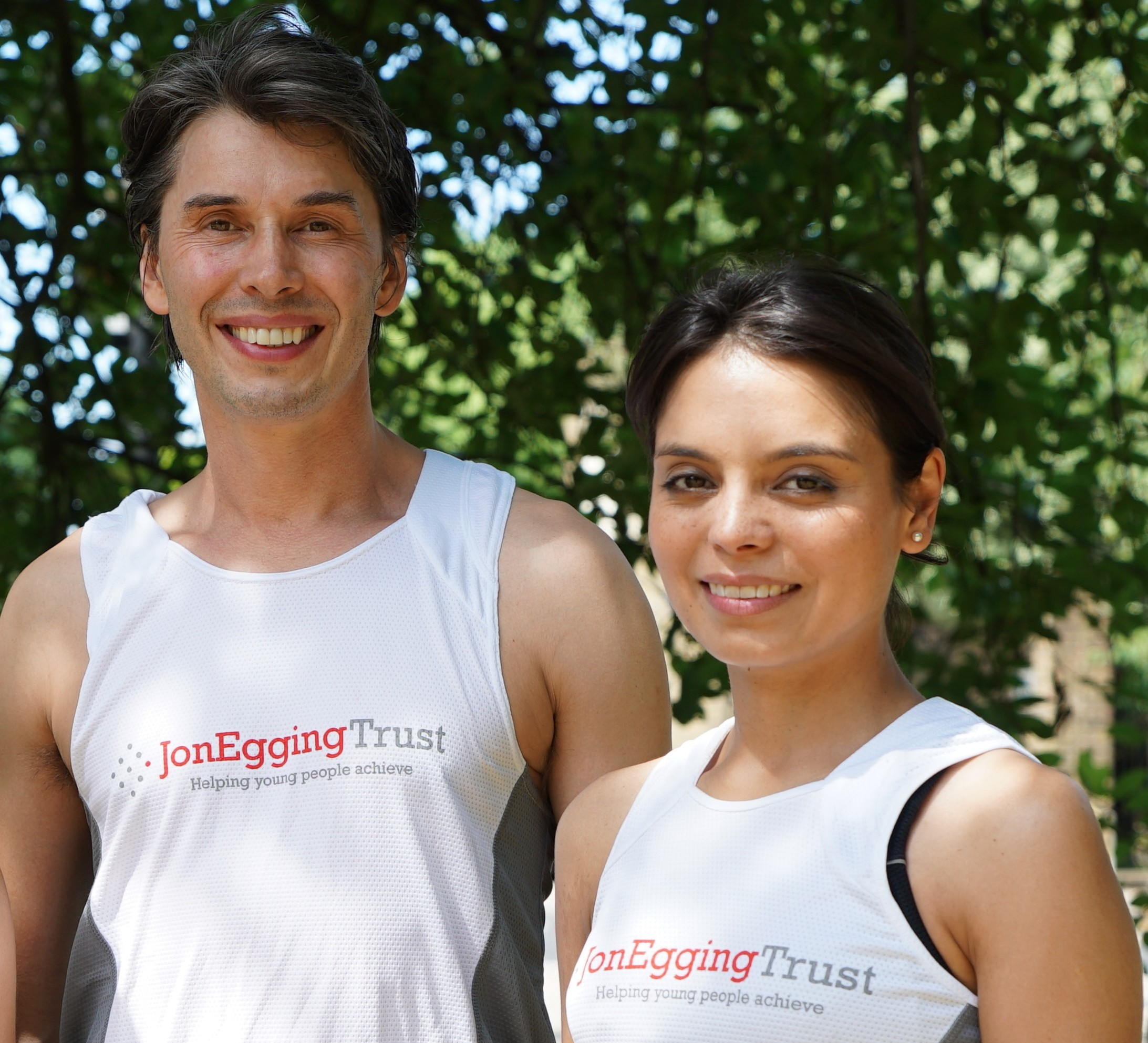 Professor Brian Cox joins the Jon Egging Trust team for the Morrisons Great North Run