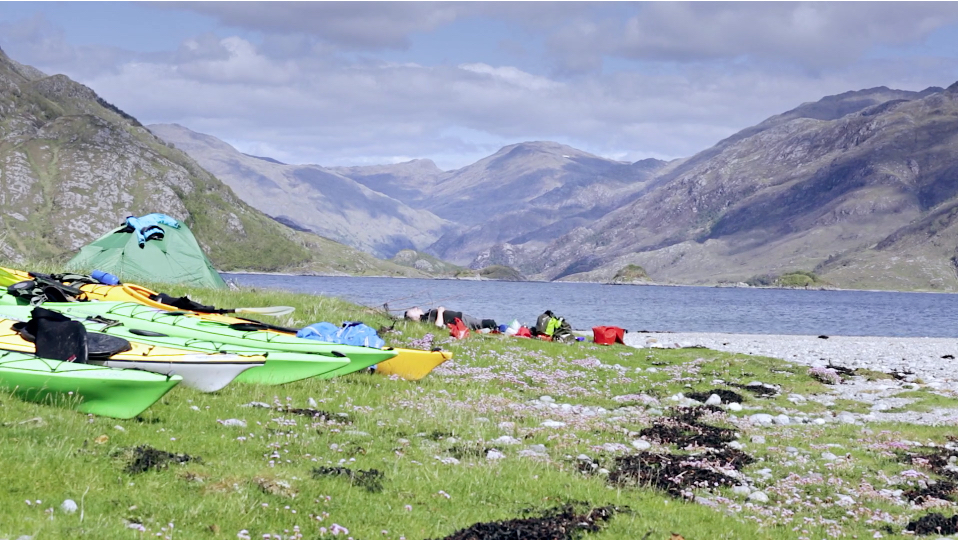 Sea kayaking with Wilderness Scotland