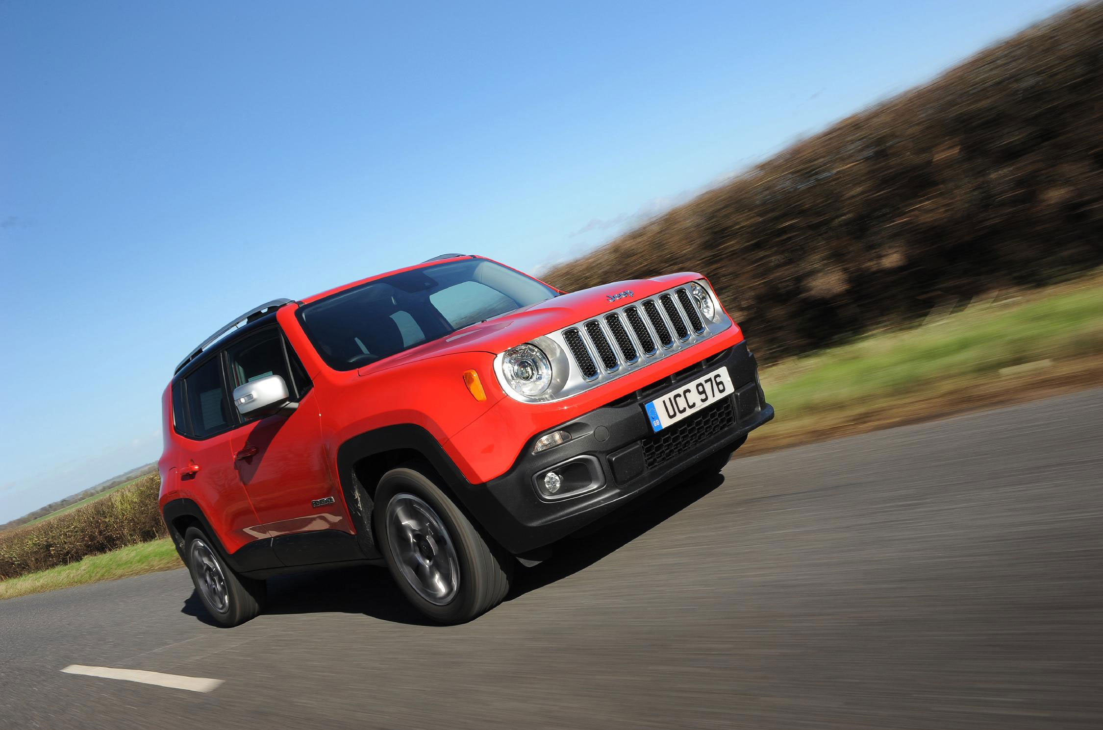 1,299 Jeep Renegade cars sold in September