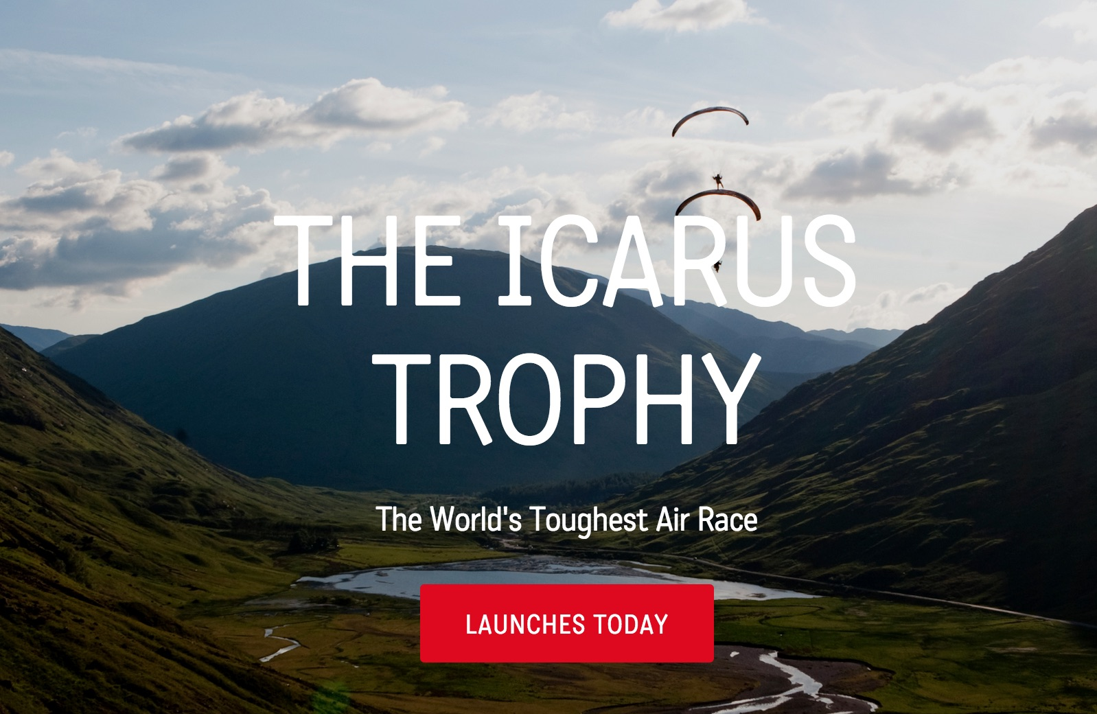 Track paramotor pilots as the Icarus Trophy starts today