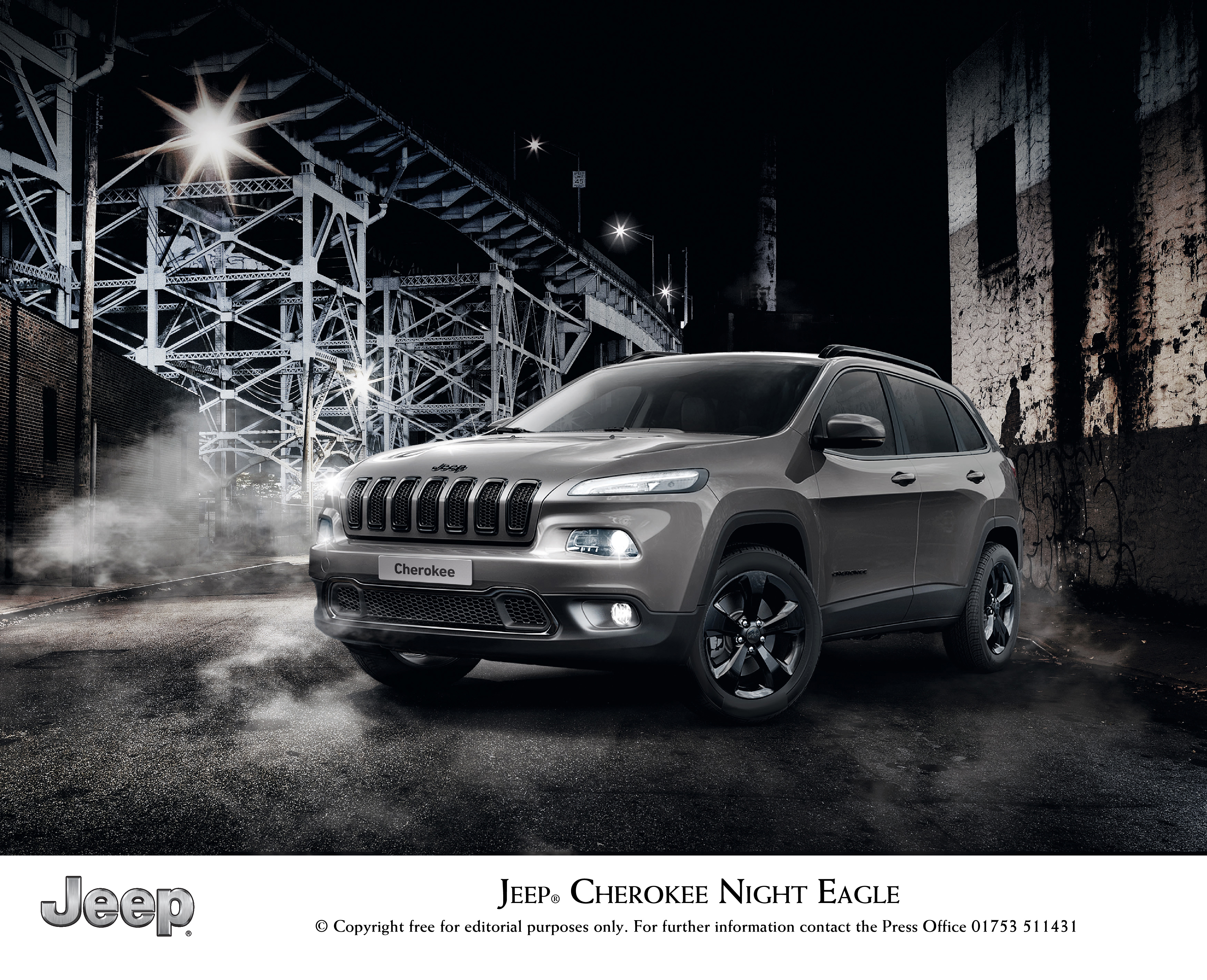 Jeep announces Cherokee NIGHT EAGLE LIMITED EDITION